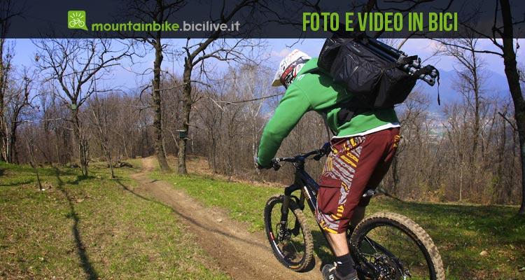 fotografia e video in bici gli strumenti