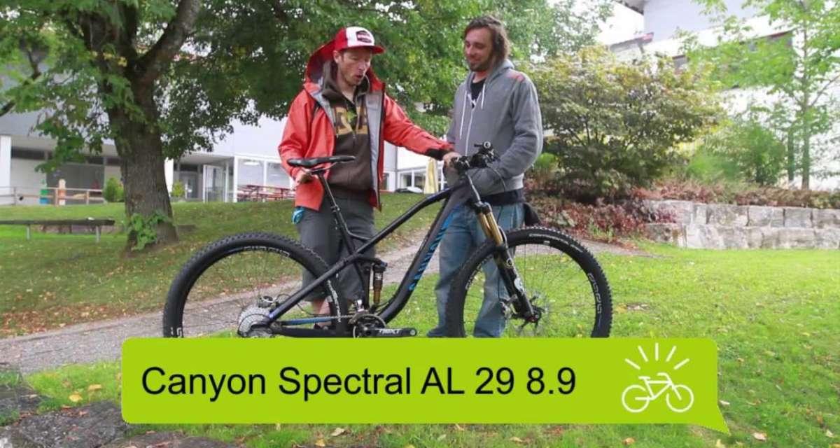 Canyon Spectral AL 29 8.9