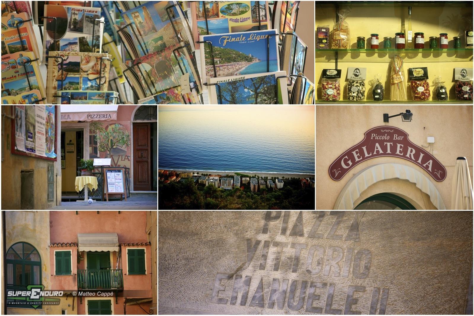 """Una """"cartolina"""" da Finale Ligure, con scorci e prodotti tipici di casa nostra..."""