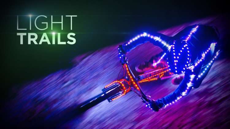 Light Trails - Fully LED'ed