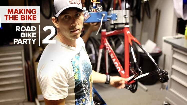 Road Bike Party 2 - The Making Of Martyn Ashton's Colnago C59 Disc
