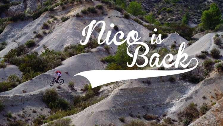 Nico Vouilloz is Back - Overvolt Lapierre