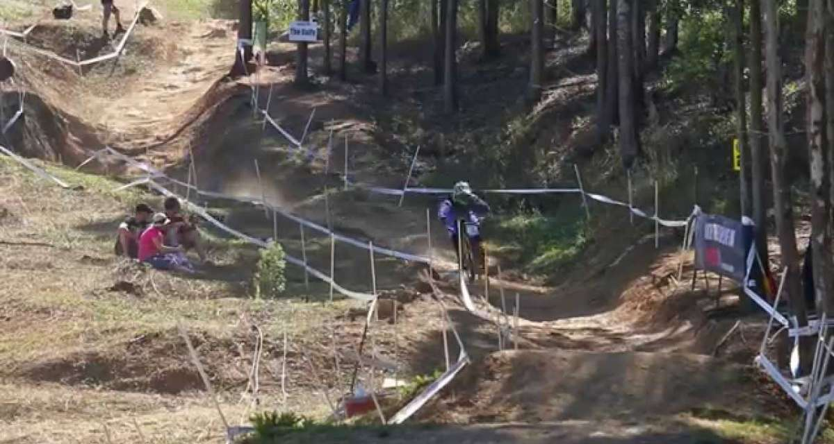 #OnTheHunt - Team CRC/Nukeproof at round one of the DH World Cup, Pietermaritzburg South Africa