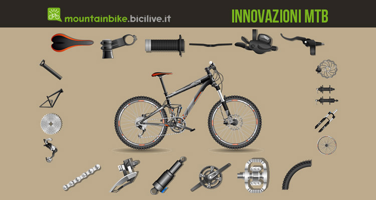 dieci innovazioni mountain bike