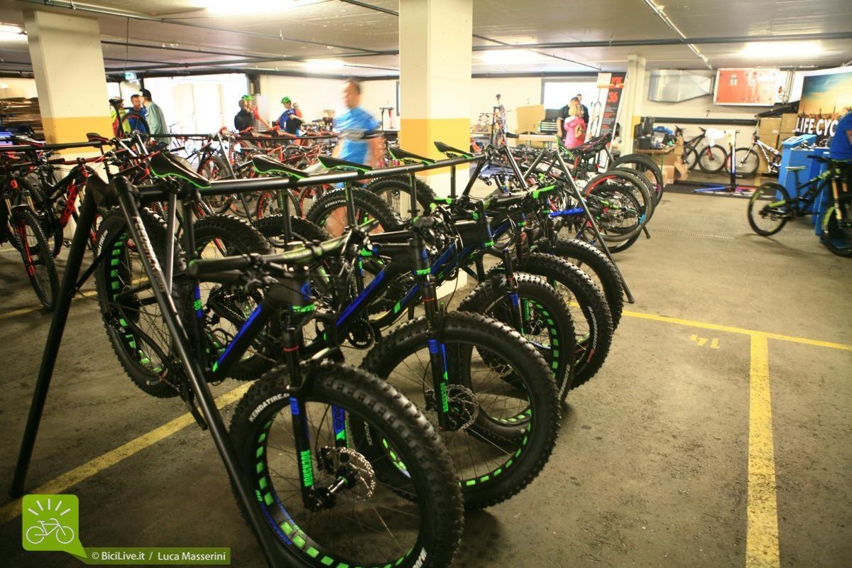 """Purtroppo il tempo per fare le cose seriamente non ci ha permesso di provare la nuova """"ciccio"""" bike Big Ed, ma volendo…"""