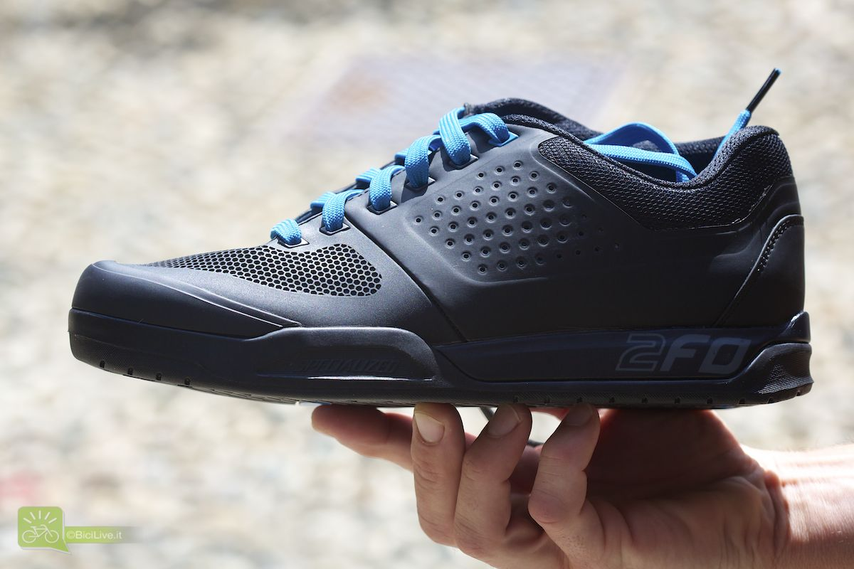 Nuova scarpa dedicata alle discipline gravity 2FO, modello flat, 119,00 euro