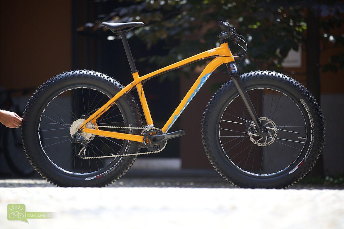 """La nuova Fatboy, ruote da 4,8"""" e forcella in carbonio, se amate le cose ciccione questa è assolutamente da provare! Prezzo: 1800,00 euro"""