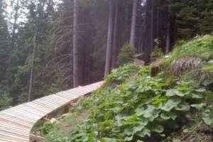 Una parte del north shore lungo 70mt a Selva Val Gardena