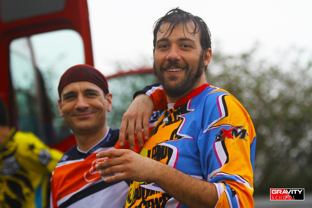 Michele Antoniazzi dalla Germania, Filippo Marretta alias Fifì, dalla Sicilia: la Gravity accorcia le distanze!