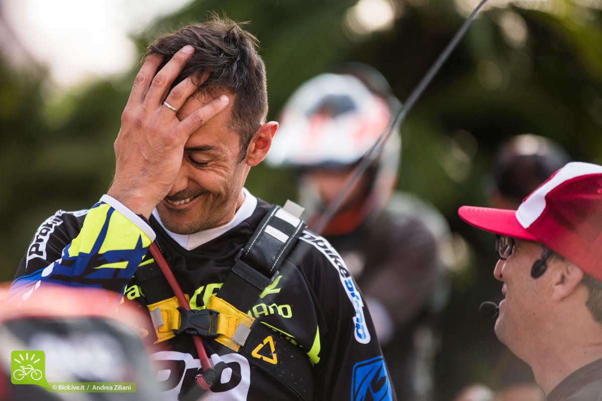 Cedric Gracia ed Enrico Guala, è difficile stare seri con Cedric!