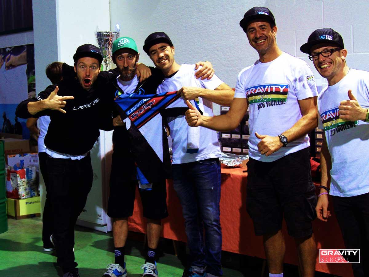 Francesco si aggiudica la jersey da gara di Nico! Paura!!