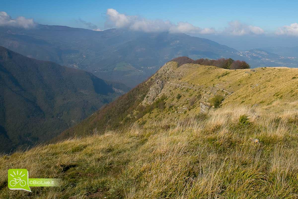 Panorama sugli Appennini tosco-emiliani