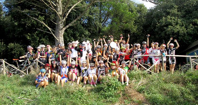 Il gruppo della Rampirosa sul Monte Conero (AN).