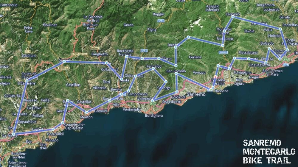 base mappa Here Sat SMTbike trail