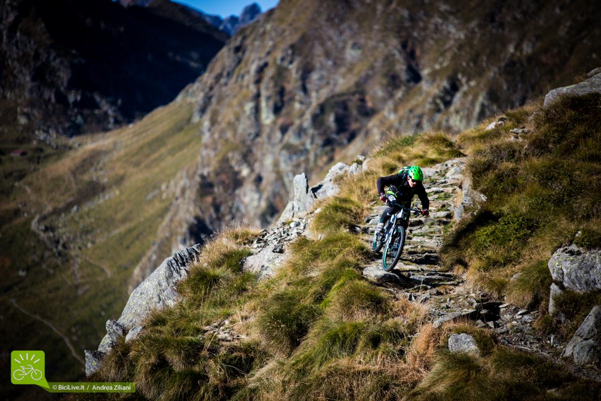 La Uncle 2015 è a suo agio anche sulle mulattiere alpine tutte rocce e gradoni