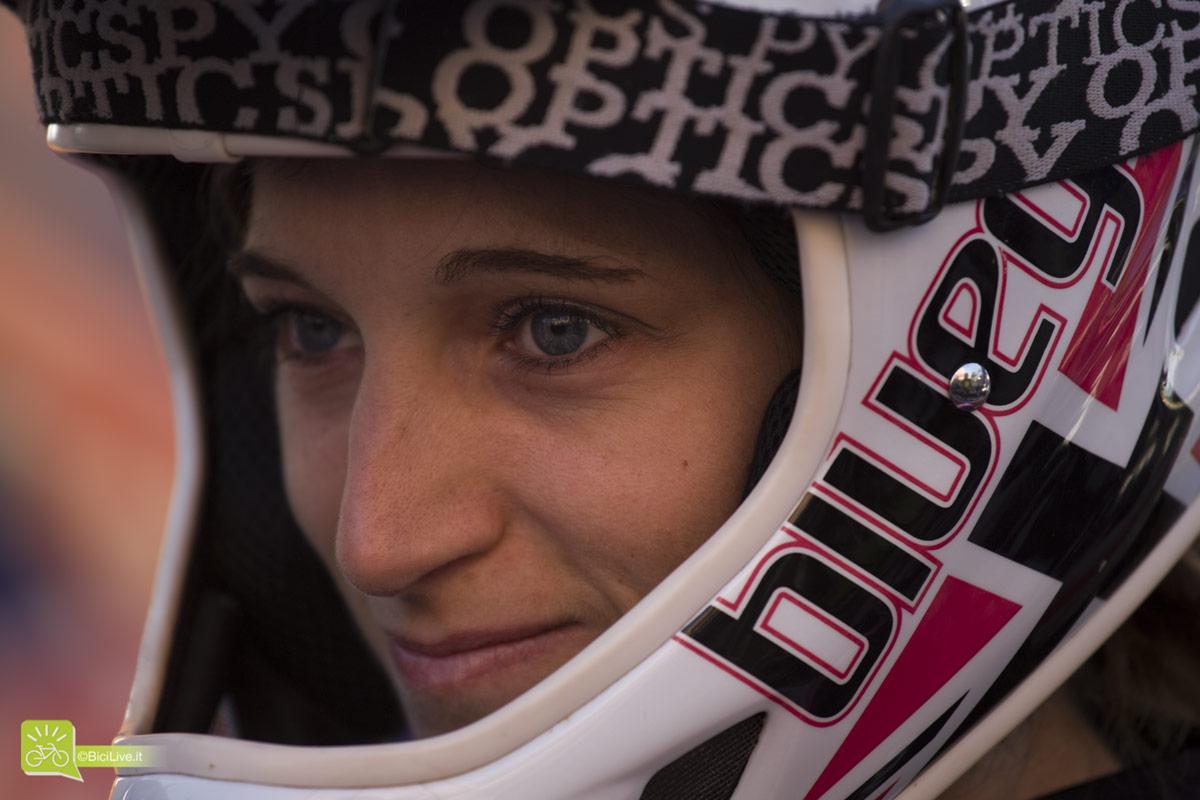 Bellezze sotto il casco all'EWS 2014 di Finale Ligure. // Foto credit Elena Martinello