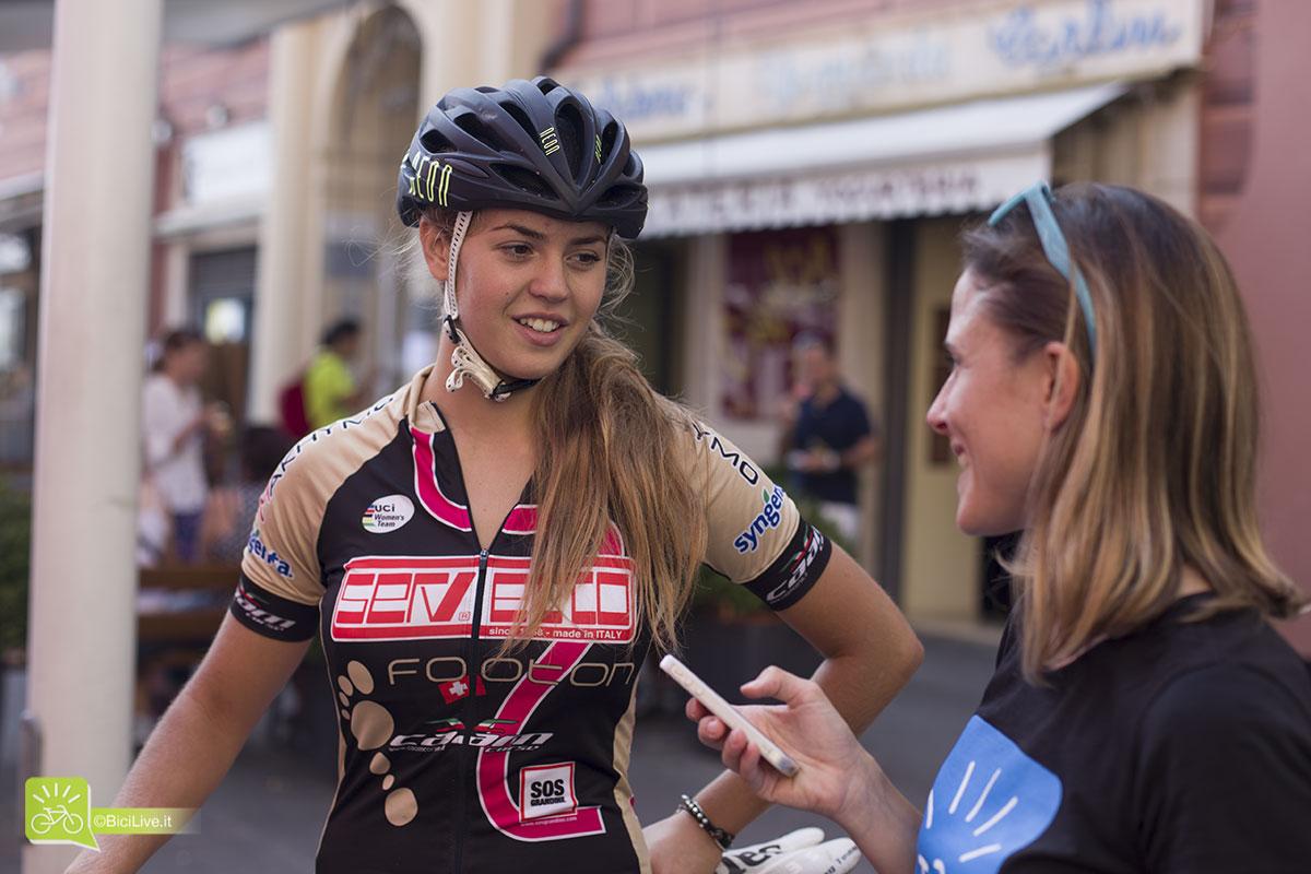 Virginia Cancellieri ci racconta come si è avvicinata al ciclismo.