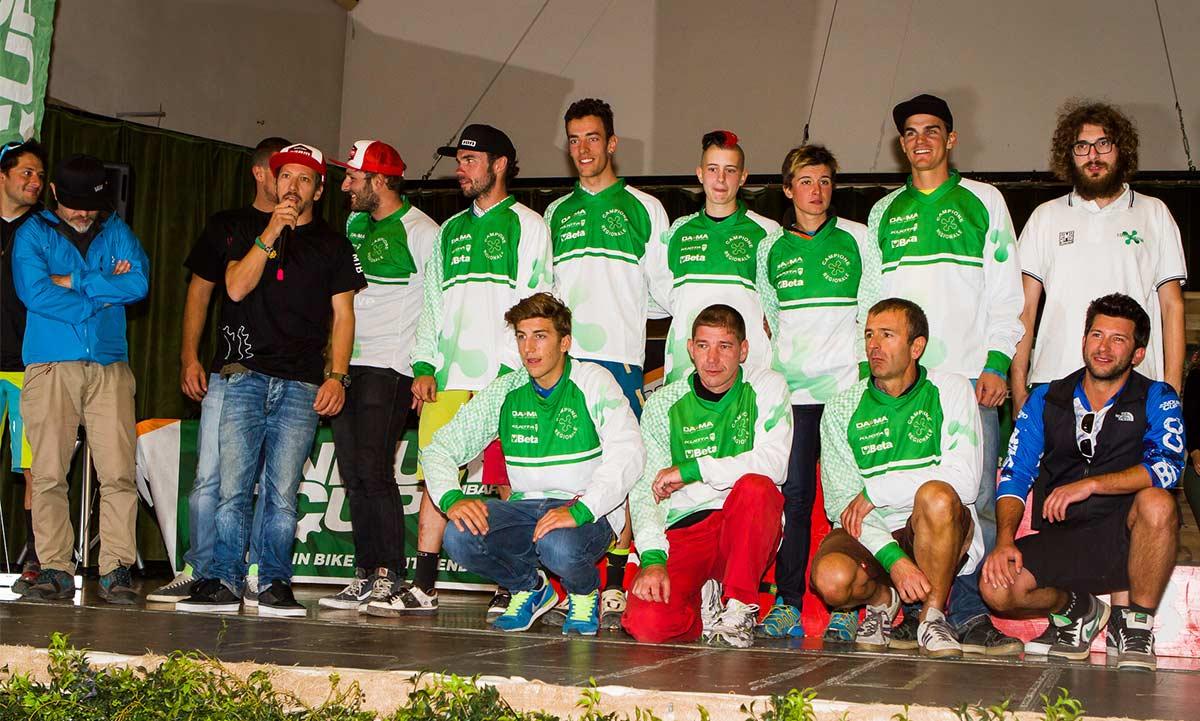 I campioni regionali lombardi 2014 di enduro, tra i quali anche il nostro Andrea Ziliani!