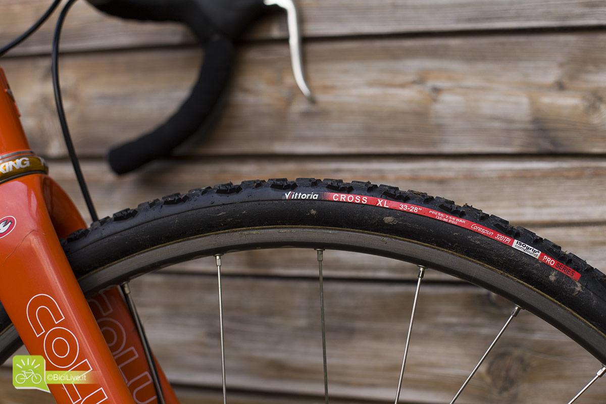 Tubolari Vittoria Cross XL ottimi per il ciclocross nel fango // Foto: Elena Martinello