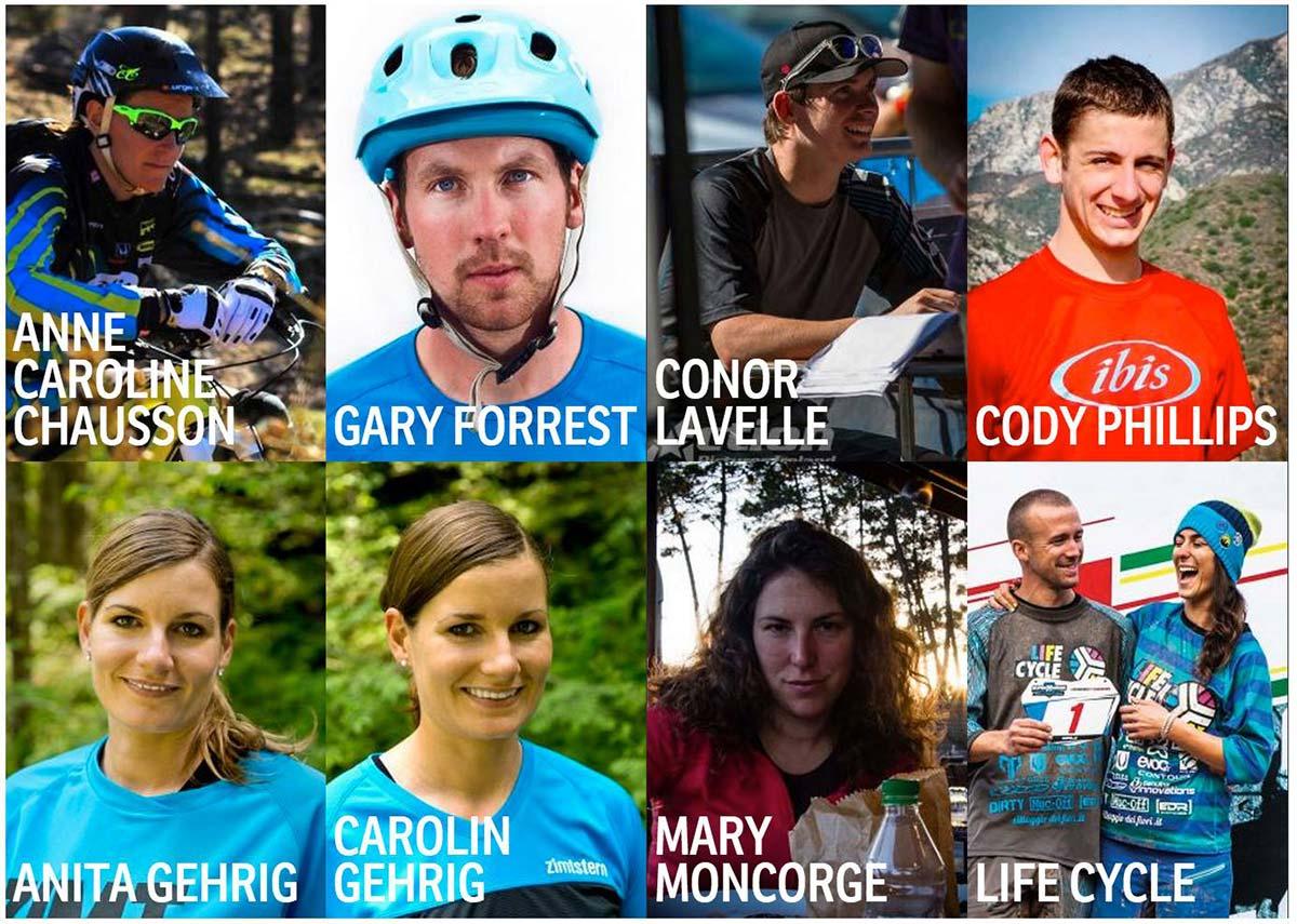 Ibis Cycle Enduro Racing Team 2015