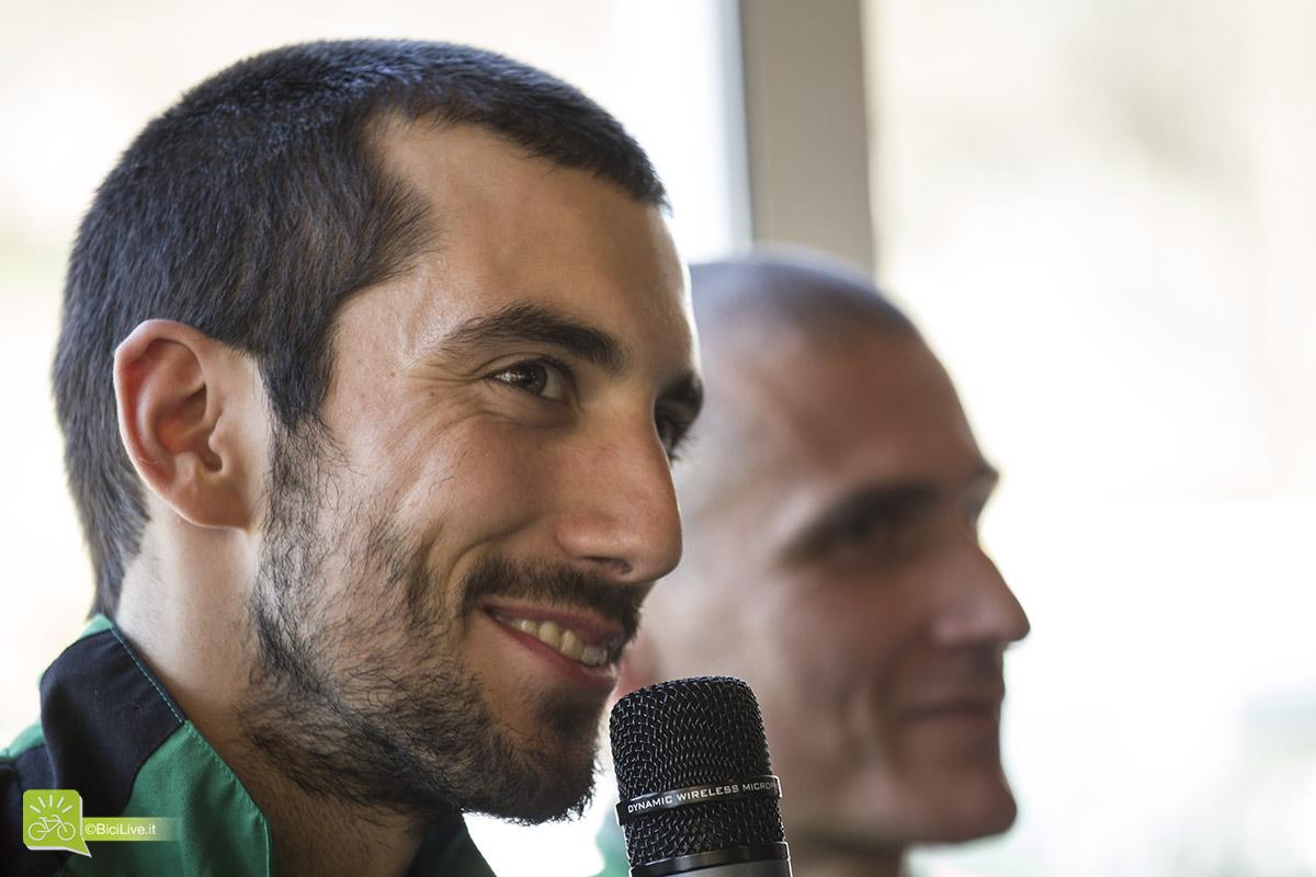 Nicholas Pettiná felice di raccontare le prospettive per l'imminente stagione ciclistica.