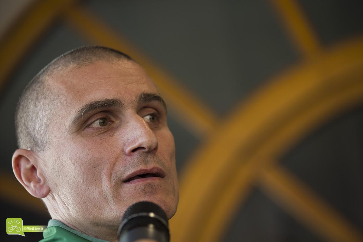 Il direttore sportivo del Gruppo Sportivo Forestale, Alessandro Fontana.