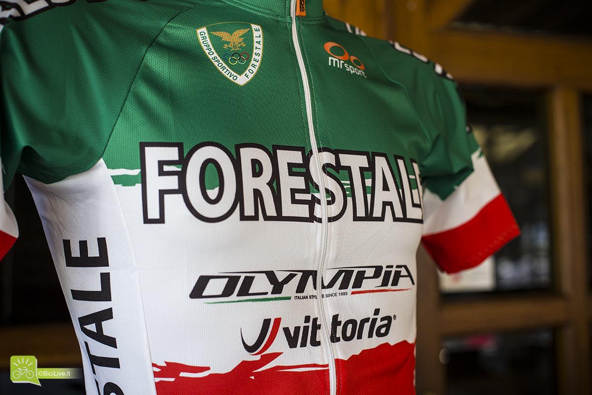 La maglia tricolore di Luca Braidot