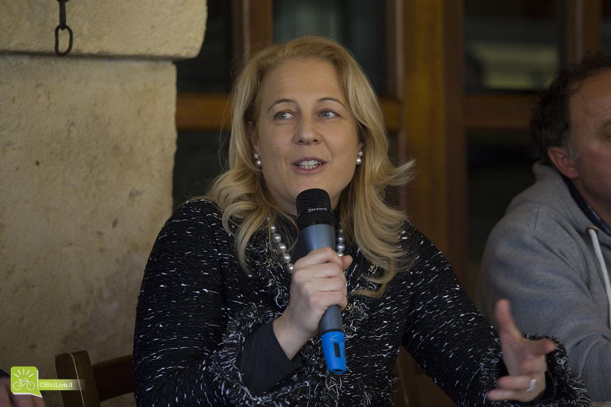 Michela Fontana, titolare Cicli Olympia