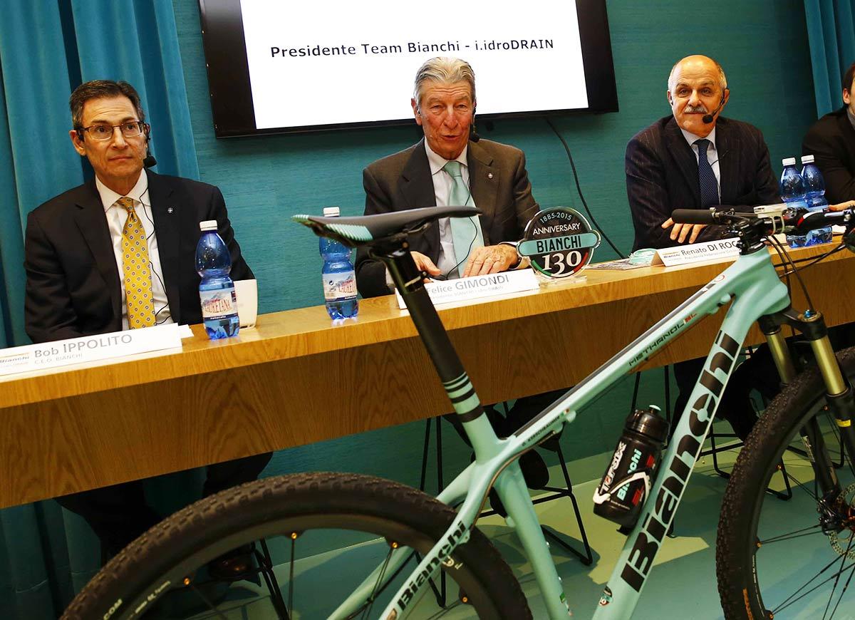Bob Ippolito, Felice Gomondi e Renato Di Rocco