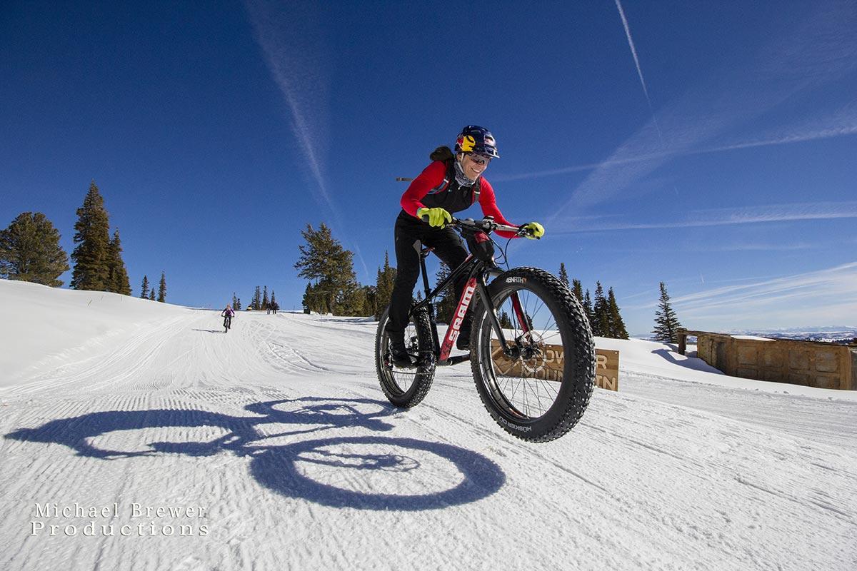 Rebecca Rush è tra le donne in bici più forti al mondo.