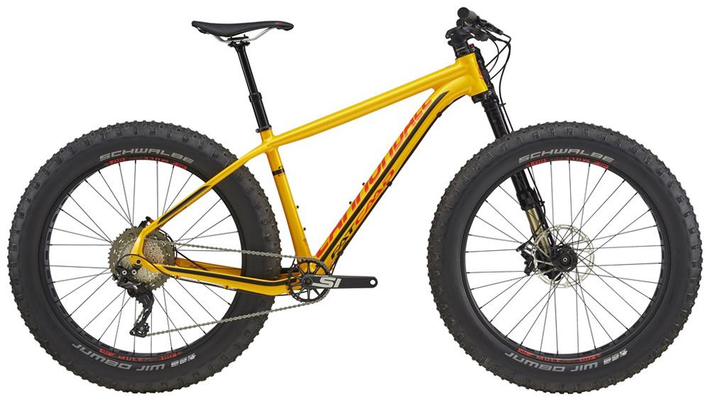 Una fat bike Cannondale Fat CAAD 1