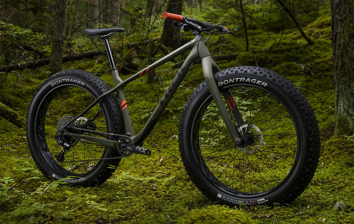 La mountain bike fat Trek Farley 9.6 anno 2020