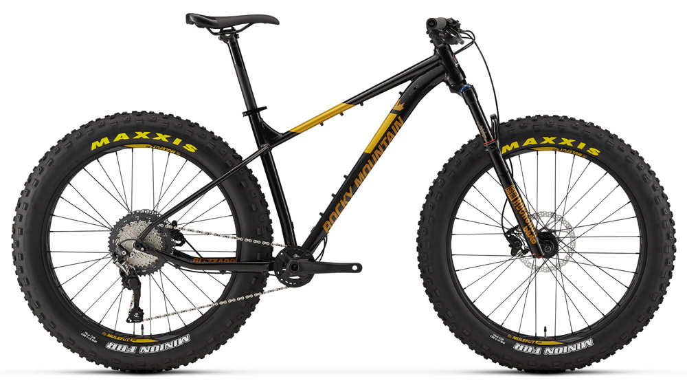 Una fat bike Rocky Mountain Blizzard 30