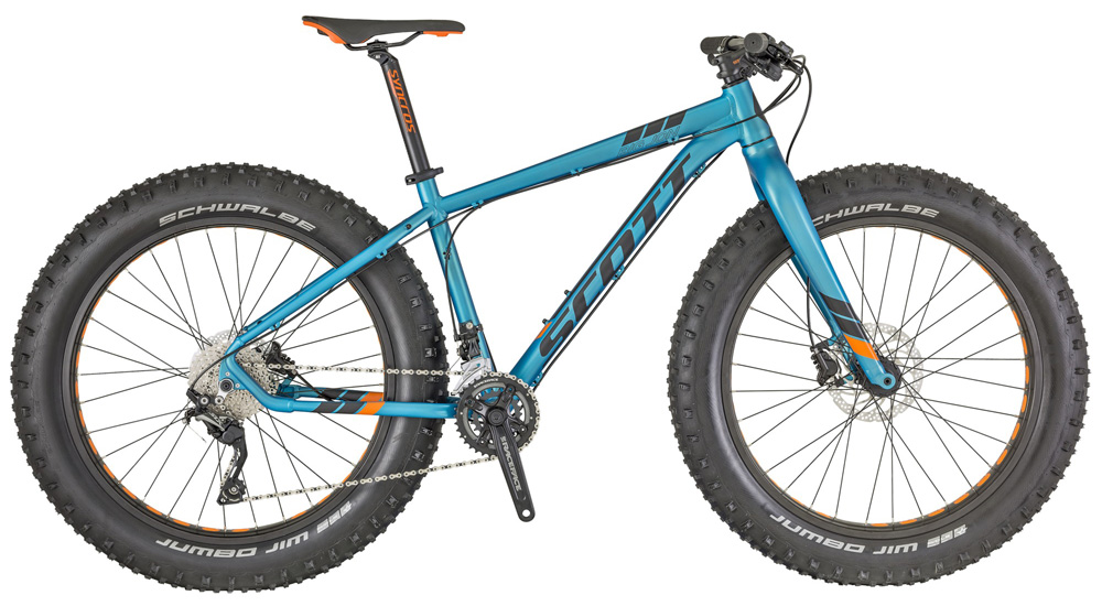 Una fat bike Scott Big Jon Bike