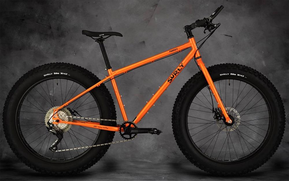Una fat bike Surly Pugsley