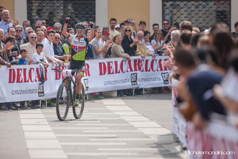 Gunn-Rita Dahle Flesja vince il Trofeo Delcar 2015 a Montichiari