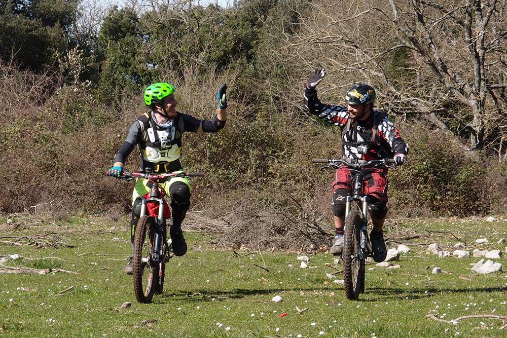 Castelluccio e Ciaravolo. Top bikers CBKS