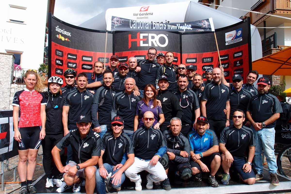 I Carbonari Bikers al Sella Ronda Hero