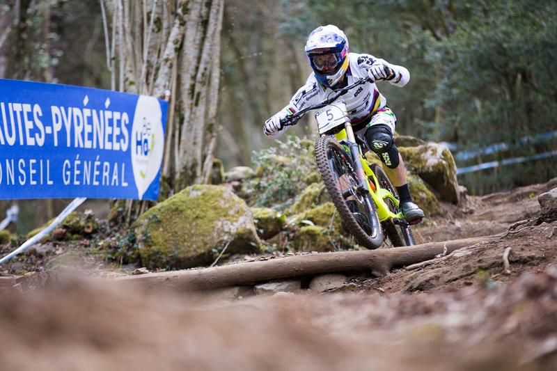 Gee Atherton Qualifiche Lourdes UCI DH World Cup 201© Lukas Pilz