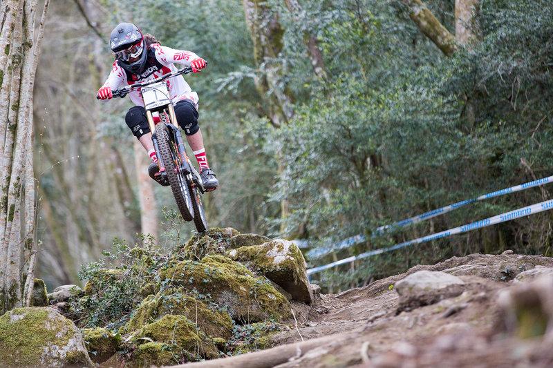 Josh Bryceland Qualifiche Lourdes UCI DH World Cup 201© Lukas Pilz