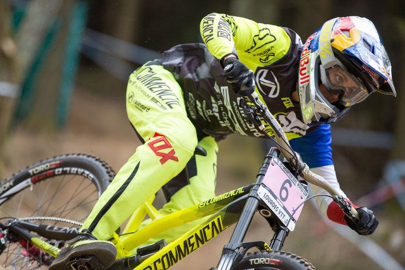 Myriam Nicole Lourdes Qualifiche UCI DH World Cup 2015© Lukas Pilz