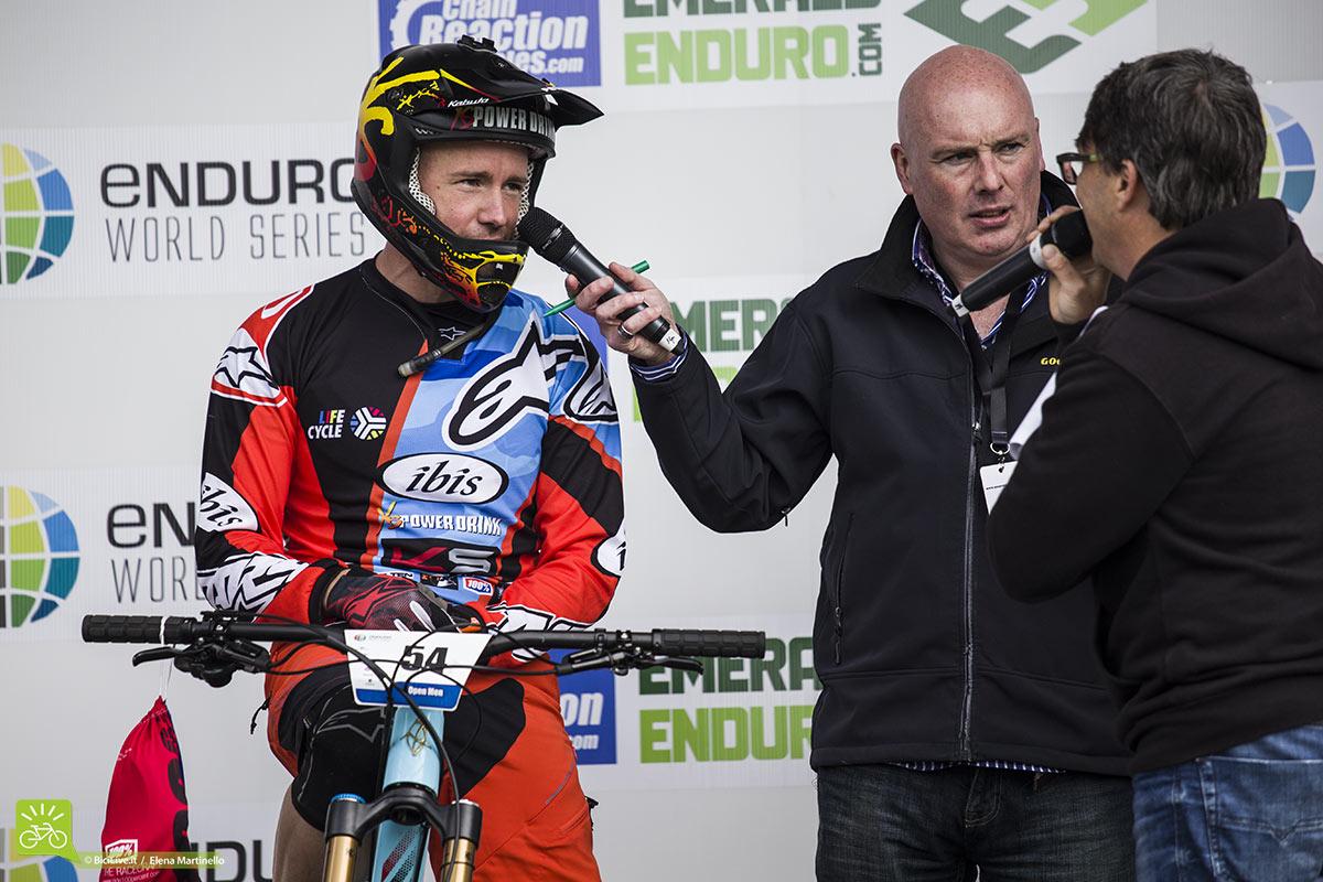 Manuel Ducci torna in gara dopo un lungo infortunio e lo fa in Irlanda.