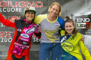 Podio Coppa Italia Enduro donne