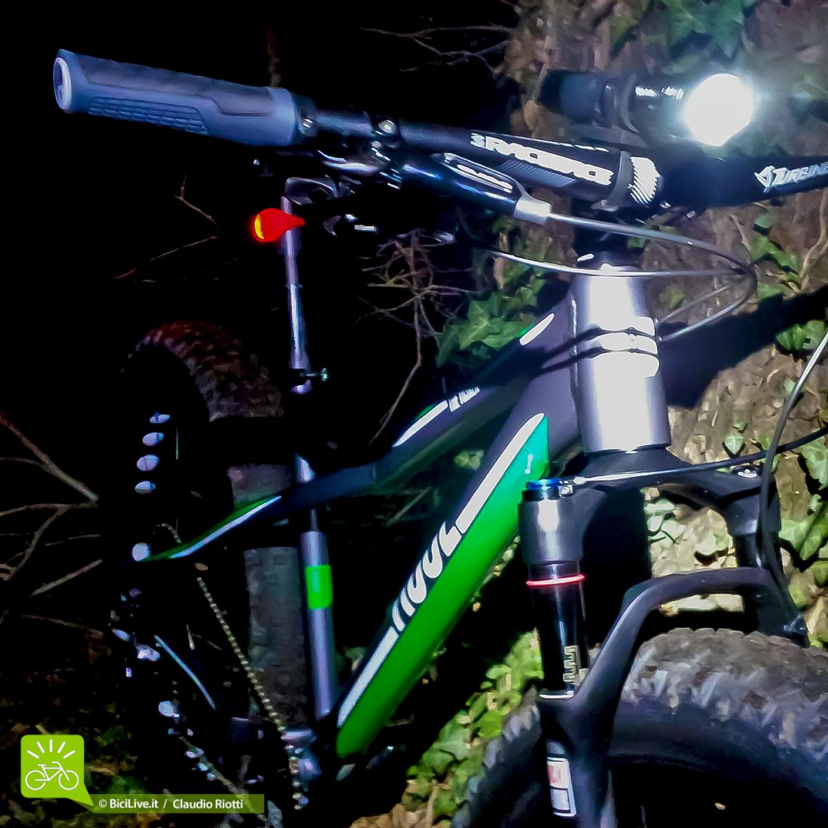 La Tusker è la bici adatta per le notturne, perdona anche i piccoli errori di guida dovuti alla scarsa visibilità!