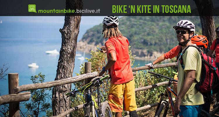 mtb kite in Toscana a Massa Marittima