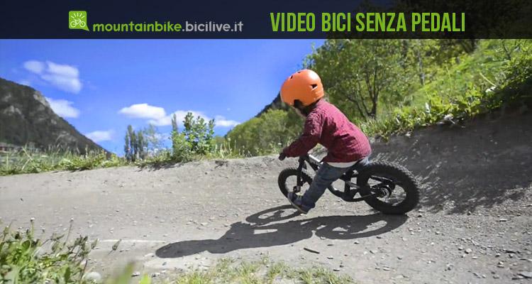 Bambini Scatenati In Sella A Bici Senza Pedali Un Video