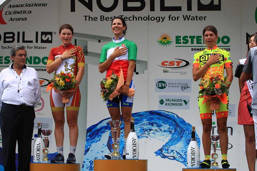 Elena Cecchini è la campionessa italiana 2015 di ciclismo femminile su strada