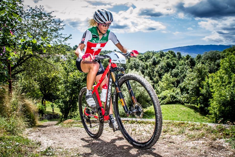Jolanda Neff, campionessa europeo mtb XC 2015