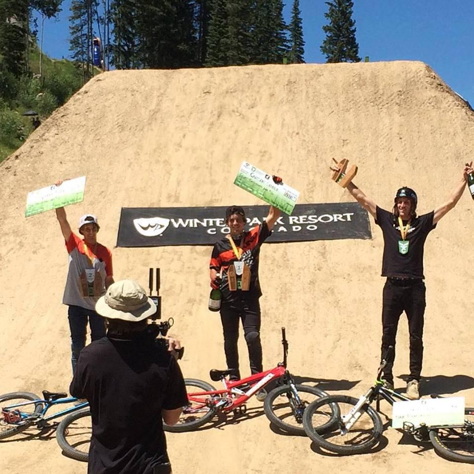 Colorado freeride festival. Torquato Testa 2° posto al contest di slopestyle