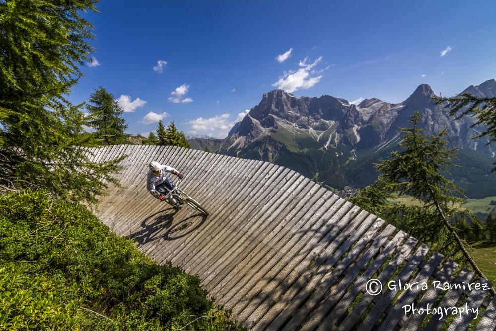 La Primiero EX3ME si è svolta nel San Martino bike arena, bike park tra le Dolomiti.